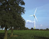 Ecotricity's wind turbine at Swaffam in Norfolk