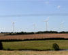 Wind turbines in the landscape